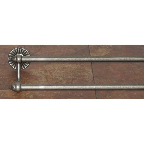 Top Knobs T-TUSC9PTA Tuscany - Bathroom Antique Pewter Towel Bar - Knob Depot