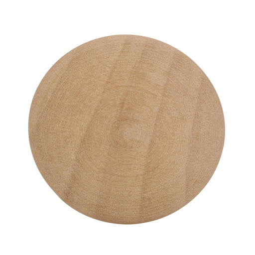 Amerock A-BP811-WD Allison Unfinished Wood, Birch Round Knob - KnobDepot.com