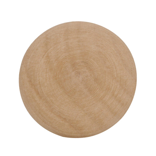 Amerock A-BP812-WD Allison Unfinished Wood, Birch Round Knob - KnobDepot.com