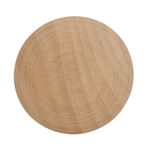 Amerock A-BP813-WD Allison Unfinished Wood, Birch Large Knob - KnobDepot.com