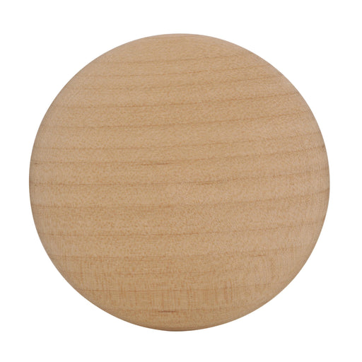 Amerock A-BP814-WD Allison Unfinished Wood, Birch Large Knob - KnobDepot.com