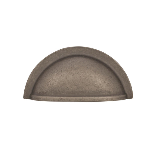 Amerock A-BP4235-WN Advantage Solid Brass Weathered Nickel Cup Pull - KnobDepot.com
