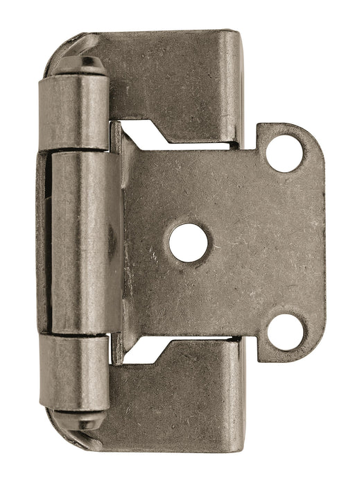 Amerock A-BPR7550WN Functional Hardware Weathered Nickel Hinge - Knob Depot