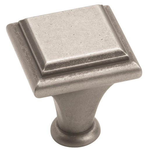 Amerock A-BP26131-WN Manor Weathered Nickel Square Knob