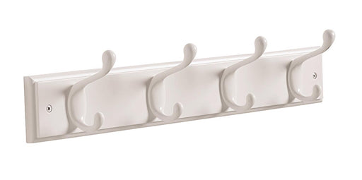 Amerock A-HR55646WGW Decorative Hooks White Hook Rack - Knob Depot