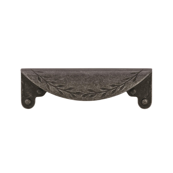 Amerock A-BP1582-WID Inspirations Wrought Iron Dark Cup Pull - KnobDepot.com