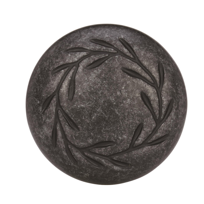 Amerock A-BP1581WID Inspirations Wrought Iron Dark Round Knob - Knob Depot