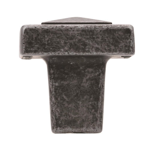 Amerock A-BP4429WI Forgings Wrought Iron Square Knob - Knob Depot