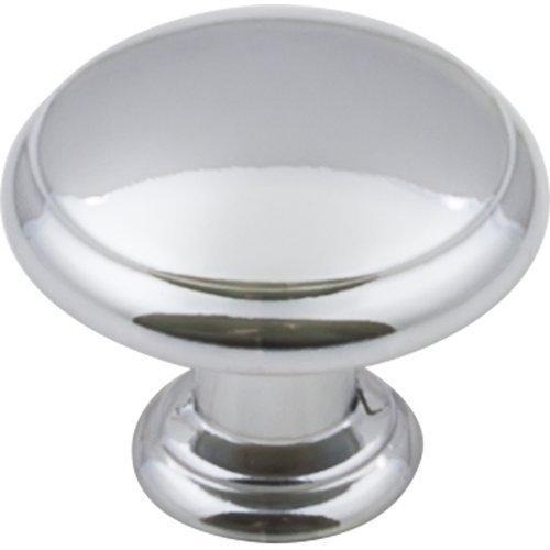 Elements E-3940-PC Gatsby Polished Chrome Round Knob - Knob Depot