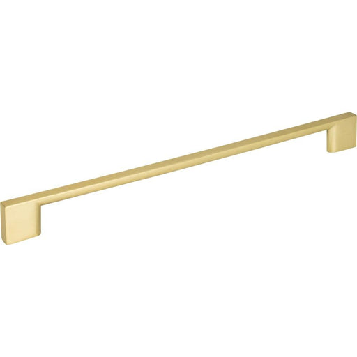 Jeffrey Alexander JA-635-256BG Sutton Brushed Gold Bar Pull - KnobDepot.com