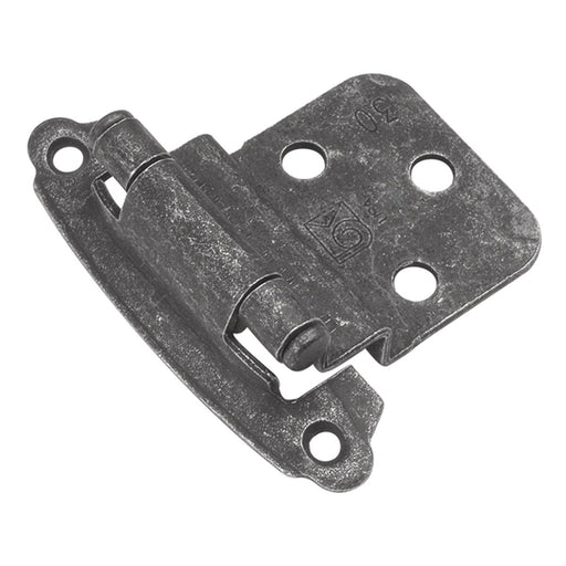 Hickory Hardware H-P243-VP Functional/Surface Self-Closing Vibra Pewter Hinge - Knob Depot