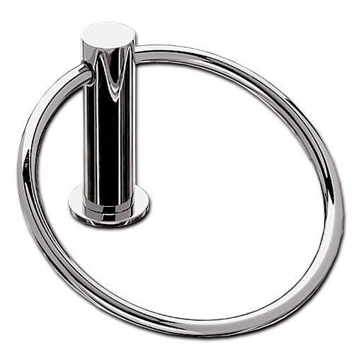Top Knobs T-HOP5PN Hopewell - Bathroom Polished Nickel Towel Ring - Knob Depot