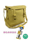 Design your own satchel - with Ngahere and Native iron on patches + vivid