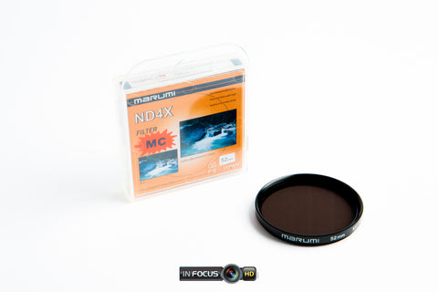 Blurfix 52mm Adapter & Marumi ND-4 MC Filter 52mm