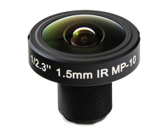 1.5MM 180° 10MP IR FISHEYE