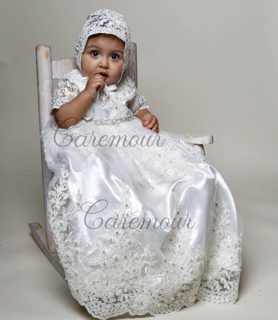 aaac86bcd baptism dress for baby girl, christening gown, christening gown girl,  christening, christening