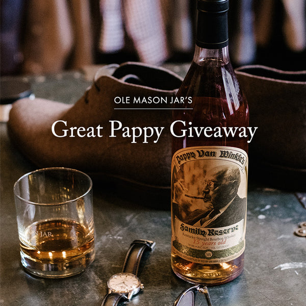 The Great Pappy Giveaway: 2019