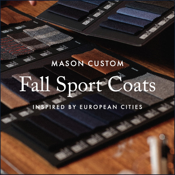 Fall Sport Coats: Inspired by the Great European Cities