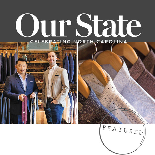 Read Our Feature in July's Issue of Our State Magazine