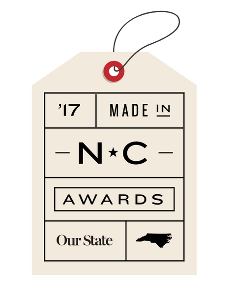 Press: 2017 Made in North Carolina Awards Winner!