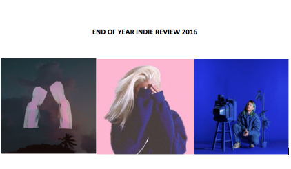 Music: End Of Year Indie Review