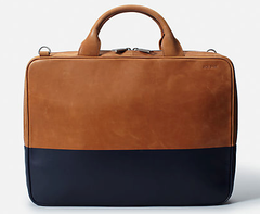 Dipped Leather Slim Brief