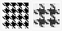 Houndstooth Pattern Via Wikipedia