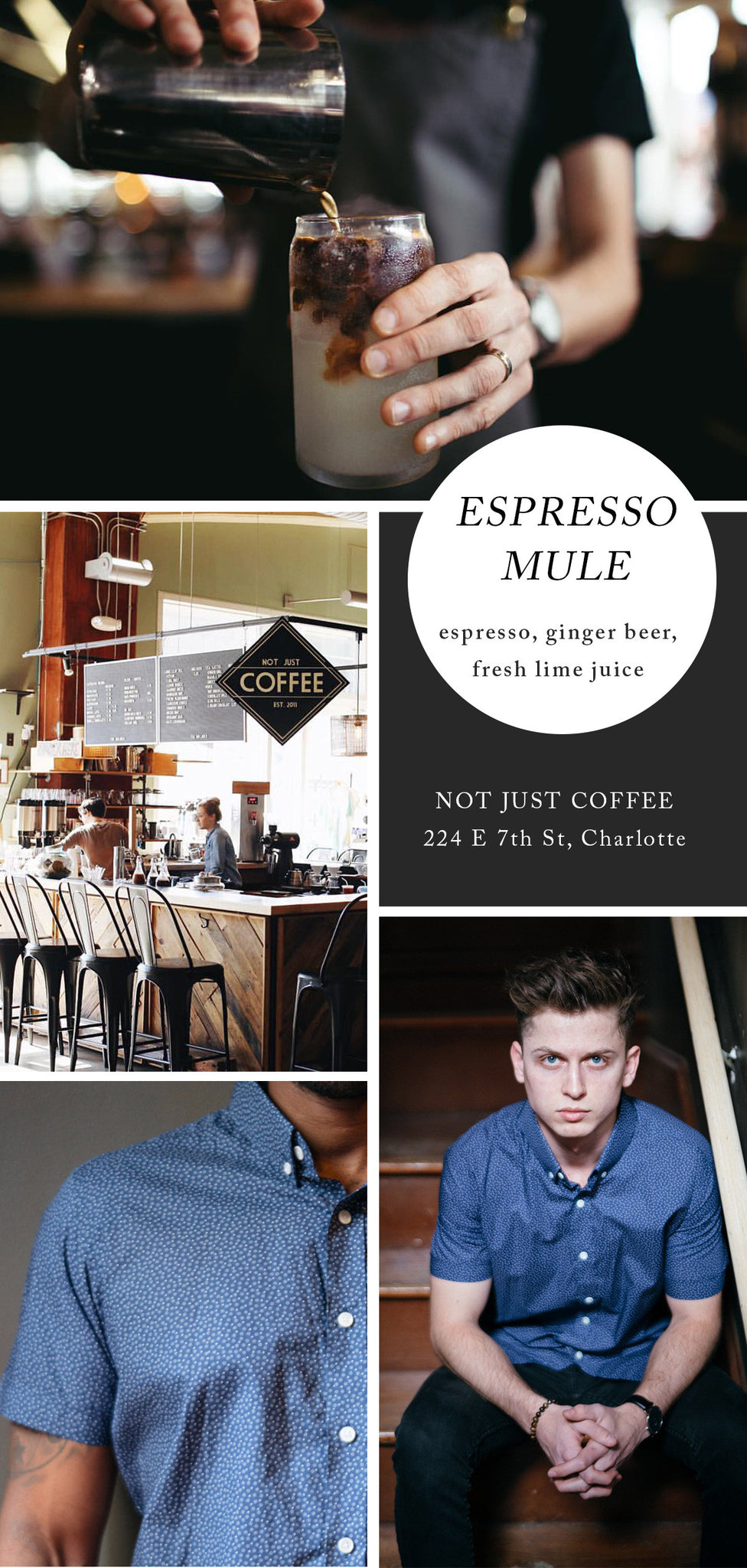 Espresso Mule from Not Just Coffee