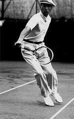 Rene Lacoste In an Original Polo