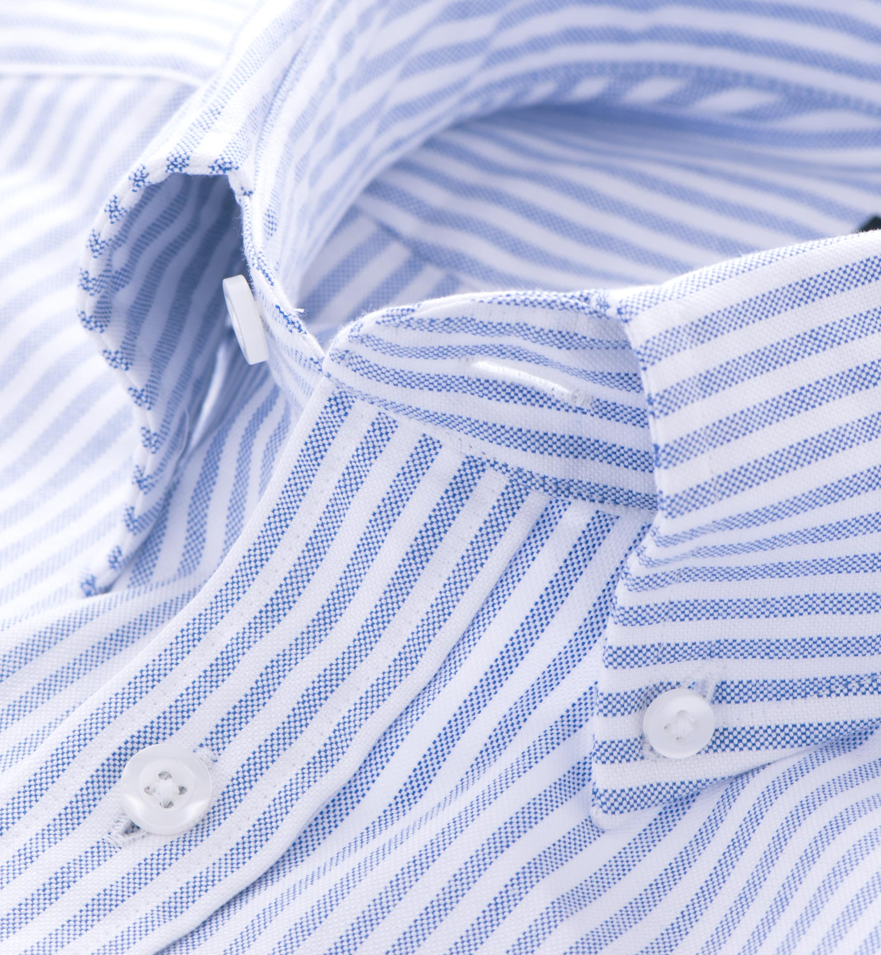 Carolina Blue Stripe Oxford