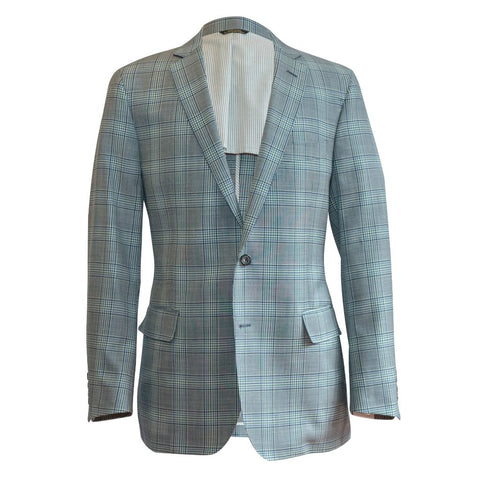 The Brown Seersucker Plaid Sport Coat