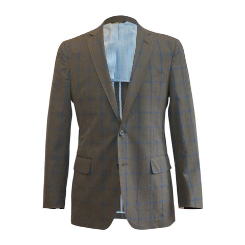 The Navy Plaid Sport Coat