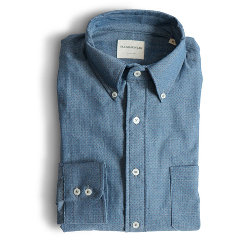 The Blue Dot Chambray