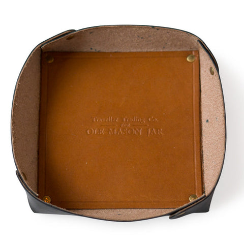 The Leather Catch-All Tray
