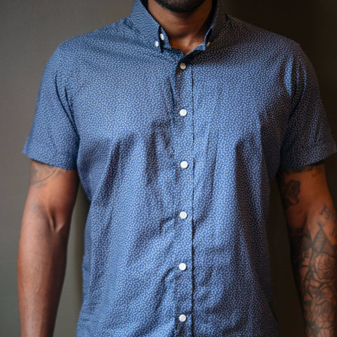 The Short Sleeve Blue Print
