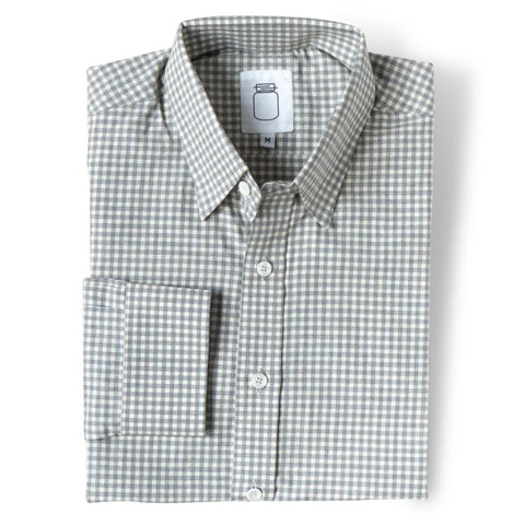 The Brushed Grey Gingham