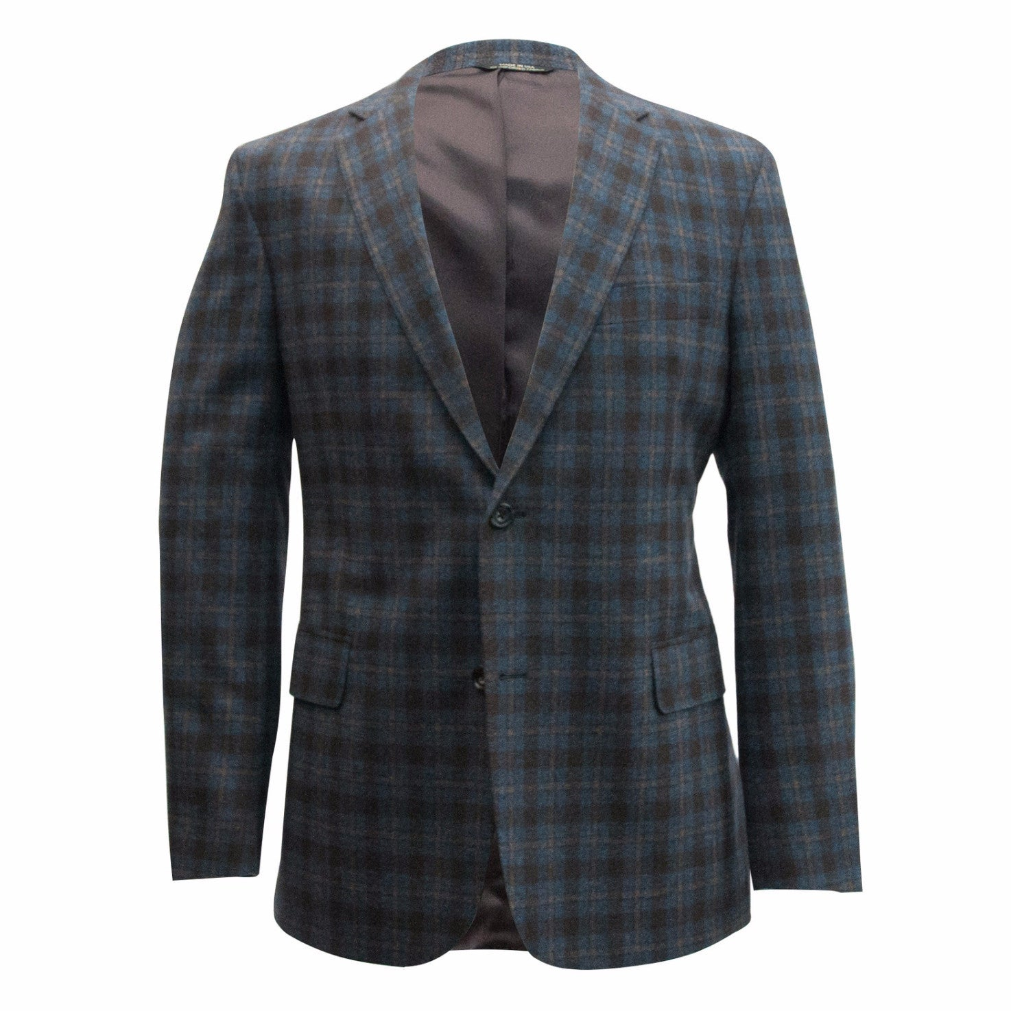 The Copper Plaid Sport Coat