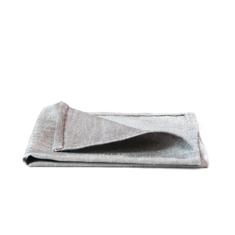 The Solid Taupe Pocket Square