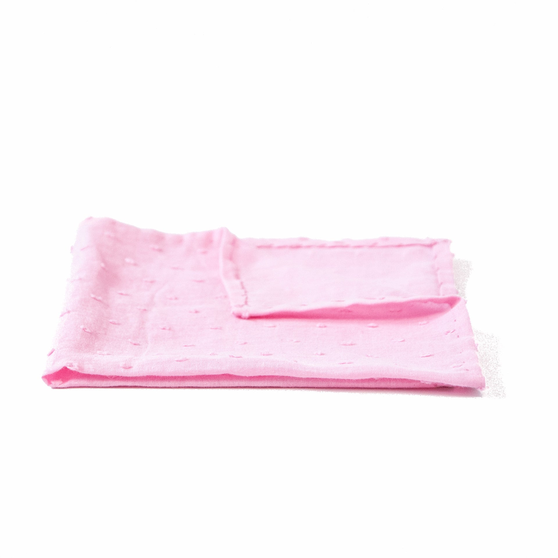 The Pink Pick Pocket Square