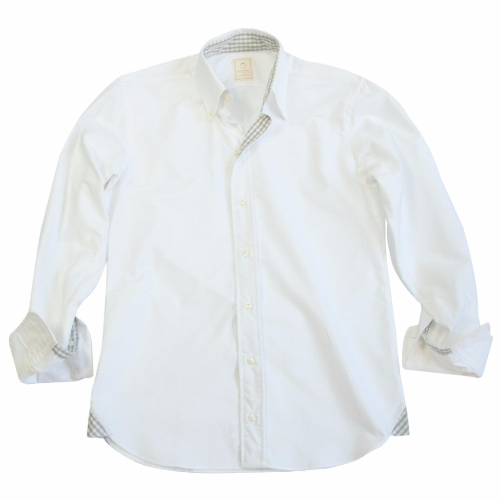 The Signature White Oxford