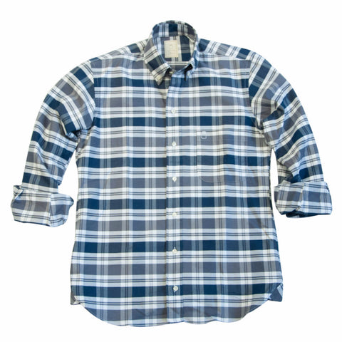 The Multi Plaid Oxford - Final Sale