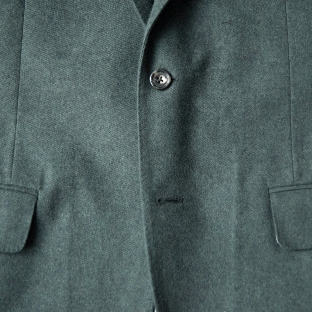 The Green Brushed Cotton Sport Coat