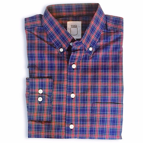 The Holiday Plaid Poplin