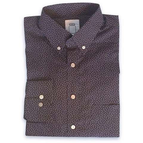 The Brown Dot Pocket Square