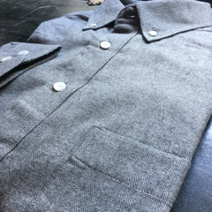 The Grey Herringbone Flannel