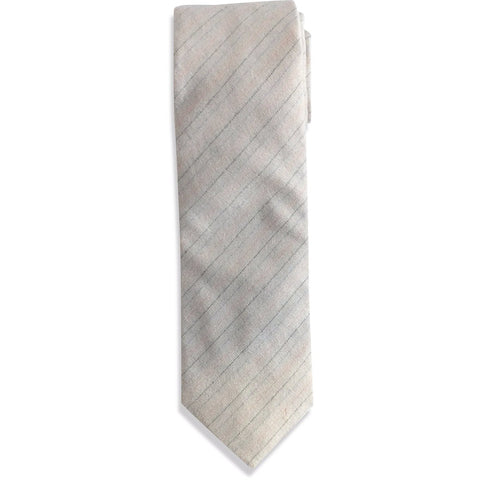 The Cream Striped Tie