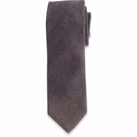 The Brown Textured Tie