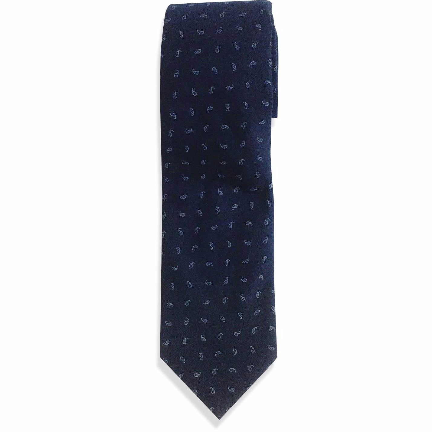 The Blue Paisley Tie