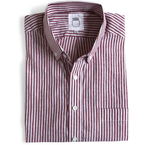 The Red Stripe Short Sleeve