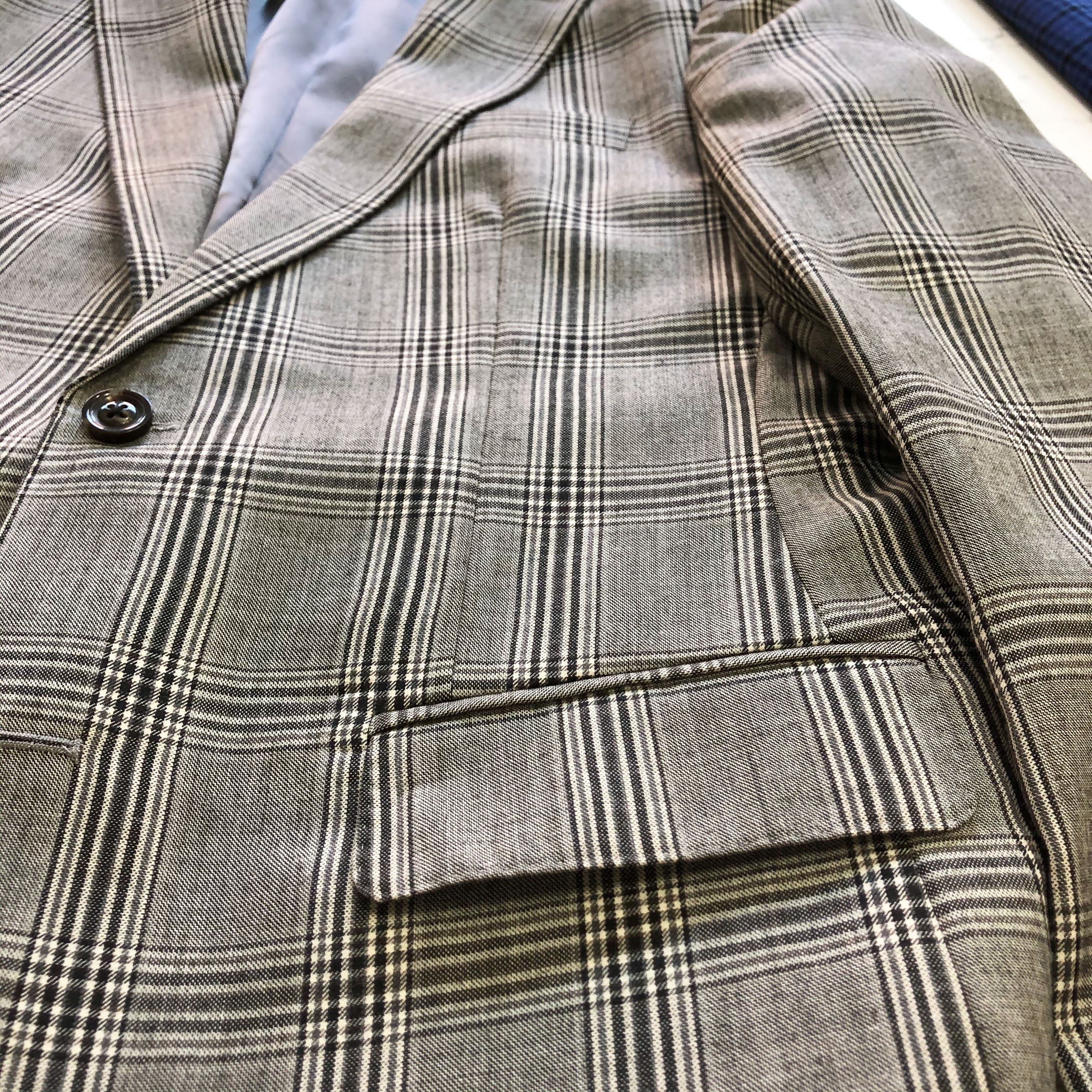 The Grey Plaid Sport Coat